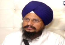 The Akal Takht Jathedar said religious issues should be kept outside politics
