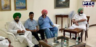 Punjab Congress president Navjot Singh Sidhu calls on Captain Amarinder Singh