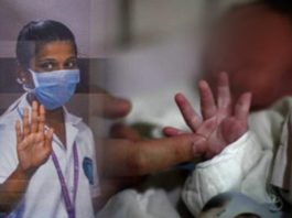 Delhi nurse in an inebriated condition hits infant, arrested