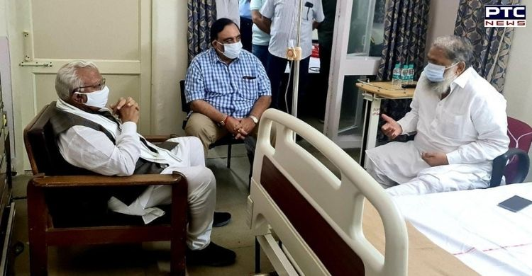 Haryana's Home Minister Anil Vij admitted to PGIMER in Chandigarh