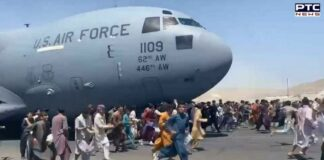 Human remains found in wheel well of US' C-17 military aircraft that departed Afghanistan