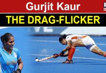 Gurjit Kaur is the strength of the Indian women's hockey defense line.