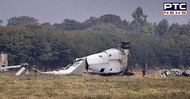 Breaking News: Indian Army's helicopter crashes near Pathankot