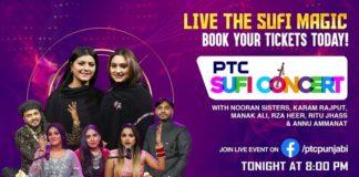 PTC Punjabi to host live Sufi concert tonight at 8pm