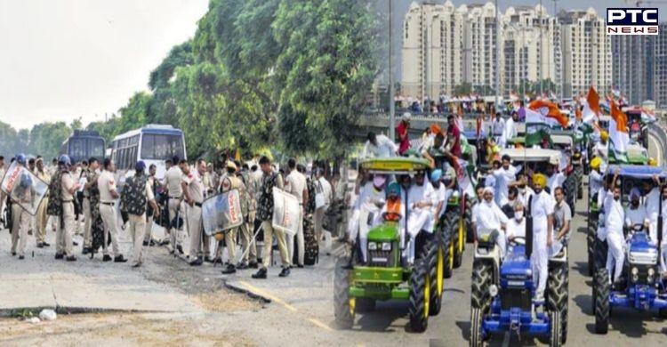 Karnal: 40 police companies deployed ahead of Kisan Mahapnachayat
