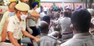 Protesting students 'manhandle' Panjab University VC [Watch Video]