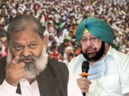 Anil Vij slams Captain Amarinder Singh for requesting agitating farmers to shift out of Punjab
