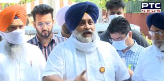 BSF jurisdiction: Sukhbir Singh Badal requests Punjab CM to convene all-party meet