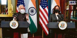 Kamala Harris 'suo moto' refers to Pakistan's role in terrorism during meeting with PM Modi