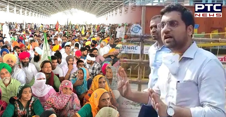 Karnal farmers' protest: IAS officer Ayush Sinha suspended, judicial inquiry ordered