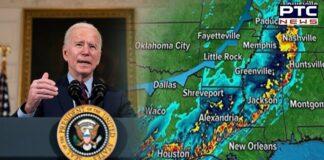 Joe Biden declares state of emergency in Louisiana over storm Nicholas
