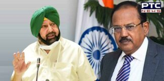 Captain Amarinder Singh meets Ajit Doval day after meeting Amit Shah