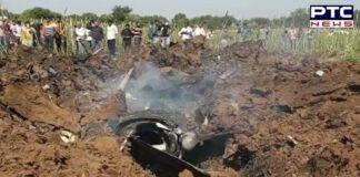 Madhya Pradesh: Indian Air Force aircraft crashes in Bhind, pilot injured