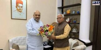 Farmers' protest: Manohar Lal Khattar meets Amit Shah, discuss Singhu border reopening issue