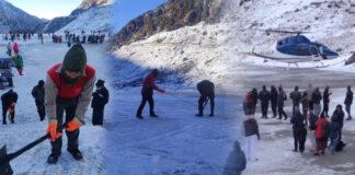 Char Dham Yatra 2021 continues in Uttarakhand amid fresh snowfall