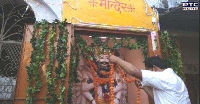 Dussehra 2021: Ravana worshipped in Kanpur temple