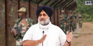 Sukhbir Singh Badal slams Punjab Govt over Centre's decision to extend BSF jurisdiction along borders