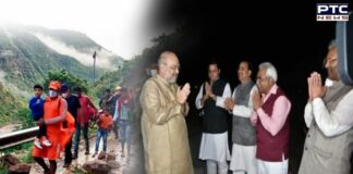 Amit Shah reaches Uttarakhand to take stock of situation following heavy rains