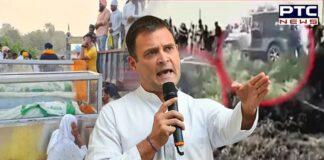 Rahul Gandhi slams PM Modi for not visiting Lakhimpur Kheri, alleges farmers being murdered