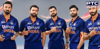 T20 World Cup 2021: BCCI unveils Team India's new jersey