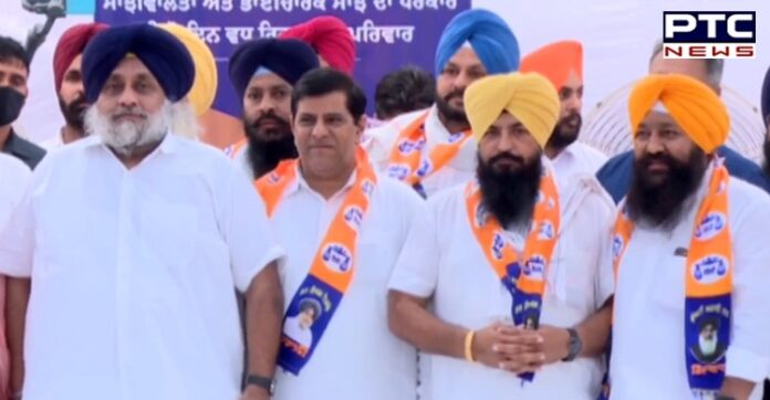 SAD receives boost with former labourfed MD Parvinder Singh Sohana rejoining the party