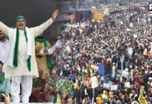 Singhu border killing would not affect farmers' protest, says Rakesh Tikait
