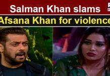 Bigg Boss 15: Salman Khan lashes out at Afsana for her 'derogatory' remarks against Shamita Shetty